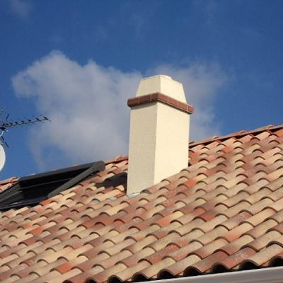 Ramonage de cheminée d'un pavillon à Bihorel par DS ROUEN COUVERTURE